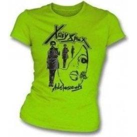 X-Ray Spex - Adolescents Original 70's Design Girl's Slim-Fit T-shirt
