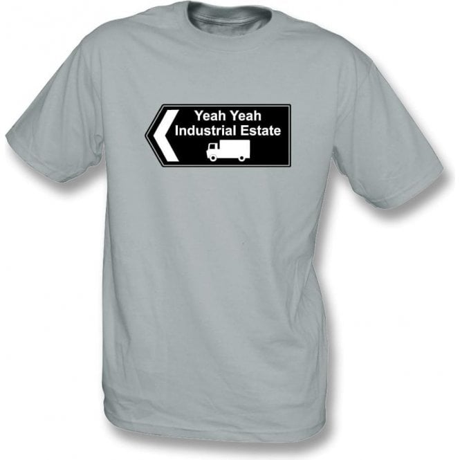 Yeah Yeah Industrial Estate (Inspired by The Fall) T-Shirt