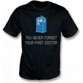 You Never Forget Your First Doctor Kids T-Shirt