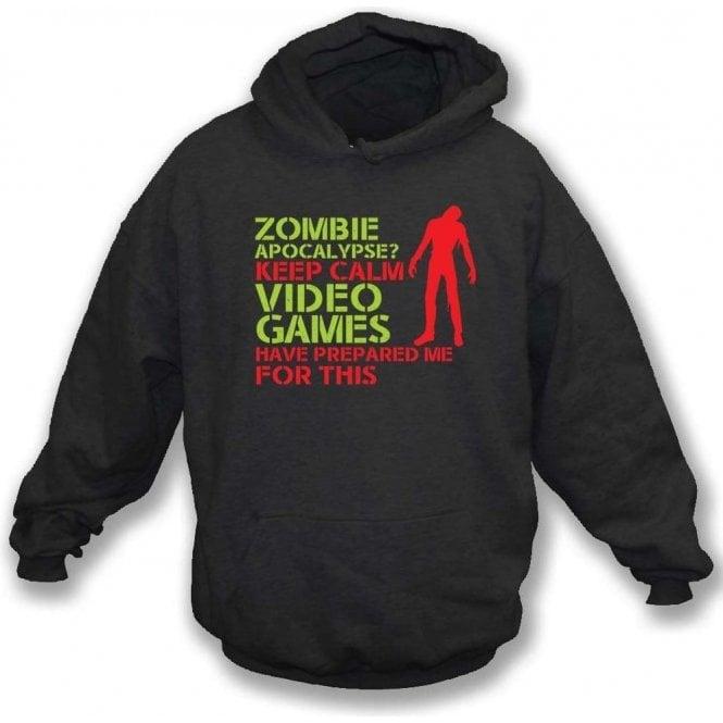 Zombie Apocalypse Hooded Sweatshirt