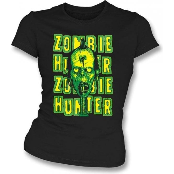 Zombie Hunter Girl's Slim-Fit T-shirt